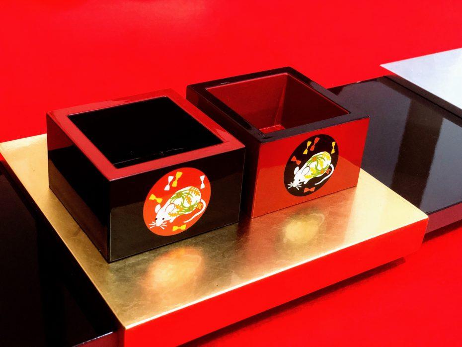 老舗菓子店様の「福豆干支枡」の製作をいたしました。